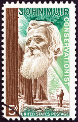 Naturalist John Muir and forest (USA 1964)