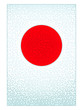Pattern Japanese flag
