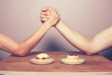 Cream tea rivalry