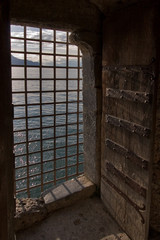 Window of prison.