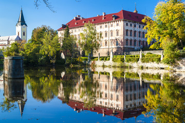 Libochovice Palace, Czech Republic