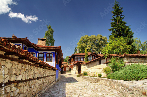 A traditional old house in Koprivshtitsa, Bulgaria,
