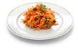 grated carrot salad(carottes rapees)