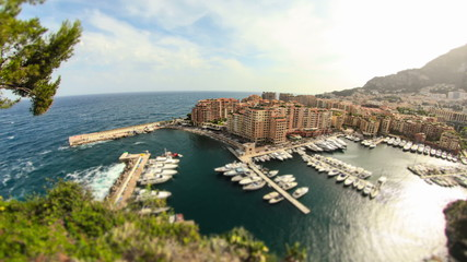 Monaco Cityscape Time Lapse