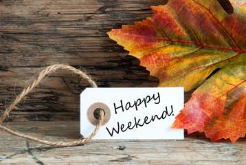 Happy Weekend Background
