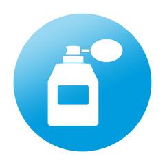 Etiqueta redonda perfume