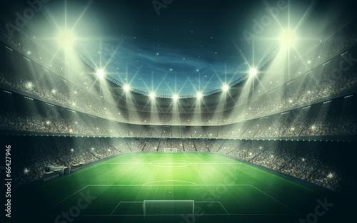Foto op Canvas Stadion Light of Stadium