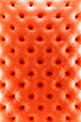 Red color sofa cloth texture