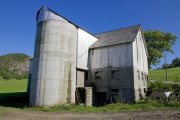 Norwegian Grain Silo closeup 01