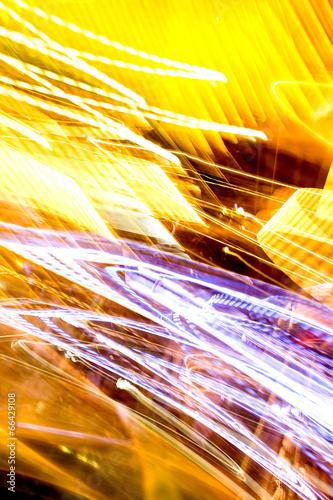 canvas print picture Bewegtes Licht