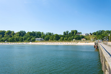 Göhren Beach, Rügen, view from pier