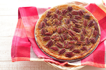Homemade Maple Pecan Pie for the Holidays