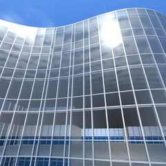 building glass facade