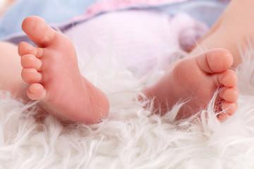 kleine Babyfüßchen