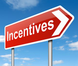 Incentives concept. poster