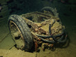 RAF trolley accumulatort on the SS Thistlegorm.
