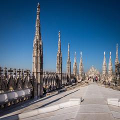 Duomo Milan - terrace