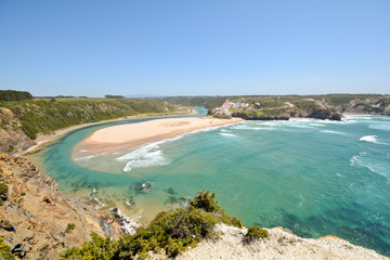 Praia de Odeceixe, West Coast Beach, Algarve Portugal