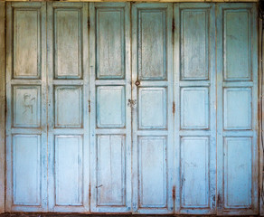 An old wooden doors