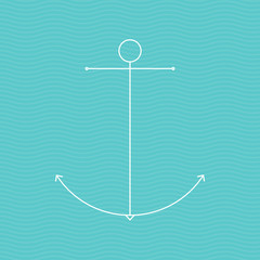Minimal anchor icon
