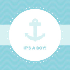 Baby shower. It' a boy