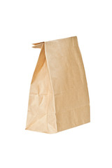 Recycled paper bag.