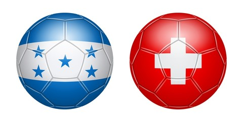 Football. Honduras - Switzerland