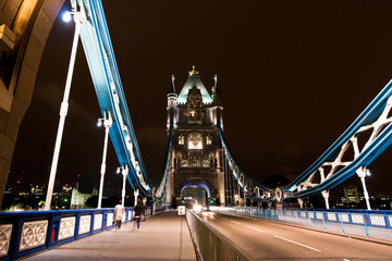 Tower Bridge, City of London - England