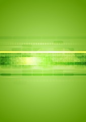 Hi-tech green abstract background