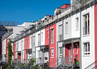 Terraced housing in Berlin