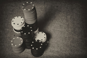 Vintage casino chips