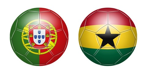 Football. Portugal - Ghana