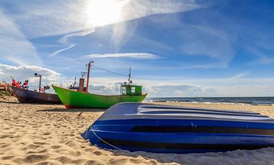 Fishing boats in Miedzyzdroje