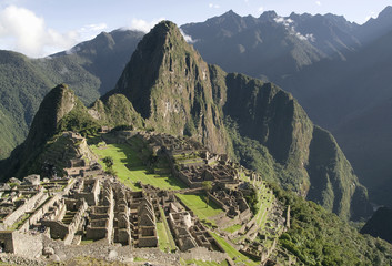 General View of Inca City of Machu Picchu, Peru