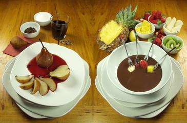 i dolci in tavola