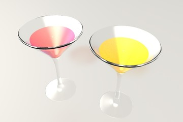 Twee cocktails