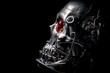 Skull of a human size robot - 66441377