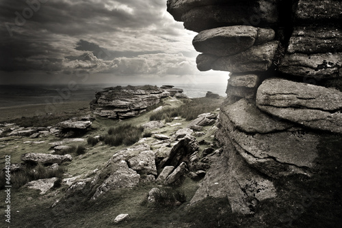Dramatic Wild Moorlands|66441302