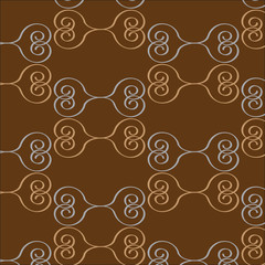 seamless brown pattern abstract