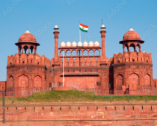 Foto op Aluminium Delhi Red Fort in Delhi, India