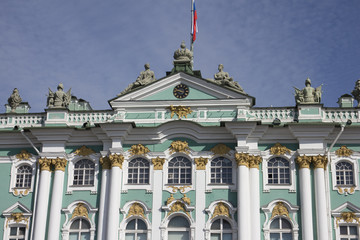 State Hermitage Museum, Winter Palace in St.Petersburg, Russia.