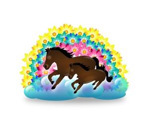 Horses weather