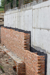 Foundation waterproofing, vapor barrier 2