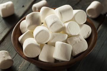 Unhealthy Large White Marshmallows