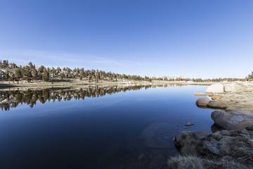 High Sierra Lake in Cottonwood Basin