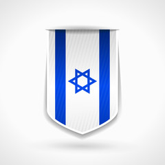 Israeli ribbon flag