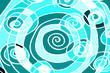 Spiraltextur - hellblau