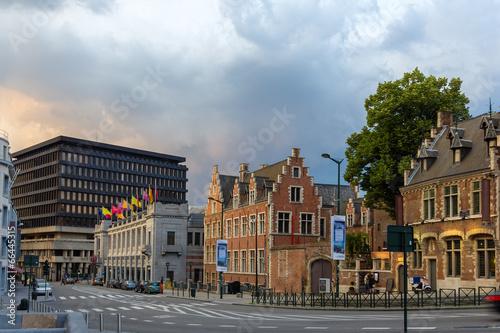 Palais des beaux arts in Brussels, Belgium - 66445315