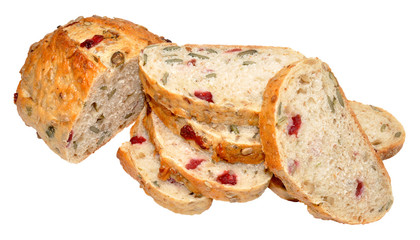 Cranberry And Sunflower Seed Bread Loaf