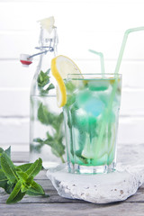 Drink mint to taste